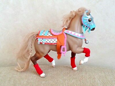 "1992 Marchon Grand Champion Collectible Toy Model Horse with Outfit 7""T"