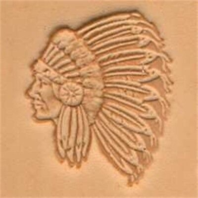 Indian Chief 3d Leather Stamping Tool - Craf Stamp 8842900