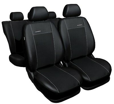 Peugeot 301 Yr 2012-2018 Measure Seat Covers Faux Leather Black