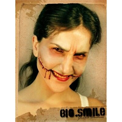 Face Wound Smile Latex Scar Application Gruesome Halloween Horror - Prosthetic