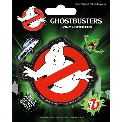 Ghostbusters (logo) - Vinyl Stickers Logo 5 Sheet Official Licensed Set