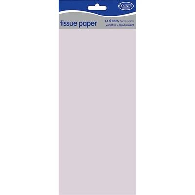 County Tissue Papers 36 Packs X 10 Sheets - White