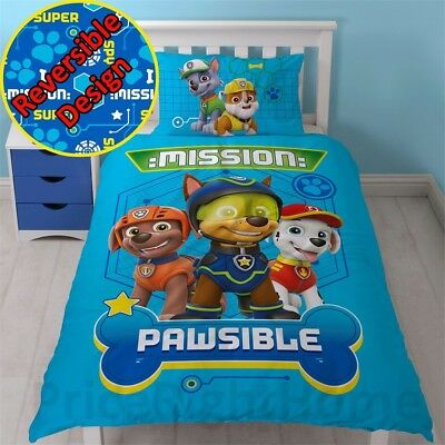 Paw Patrol Mission Pawsible Skye/marshall/rubble And Everest 2-sided Reversible