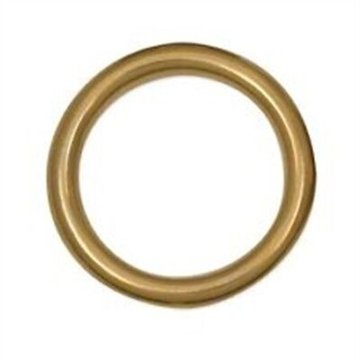 """Tandy Leather Cast Ring 1-1/2"""" (38.1 Mm) Solid Brass 1179-04 - Sb"""