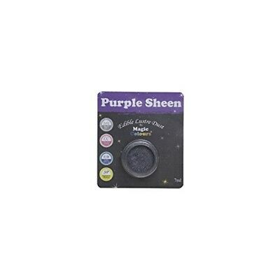 Magic Colours Lustre Dust - Purple Sheen - Edible 7ml Luster