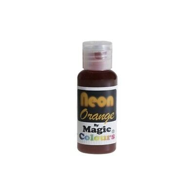 Magic Colours Neon Effect Sugarcraft Paste Orange 32 G - Sugar Craft Cake