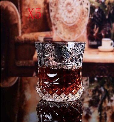 New 5X Capacity 310ML Height 95MM Transparent Cocktail Wine Glass/Glassware %