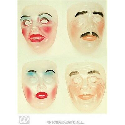 Transparent Face Mask New Years Party Masks Eyemasks & Disguises For Masquerade