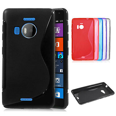 Ultra Thin S-line Wave Gel Silicone Case Cover For Nokia/Microsoft Lumia Phones