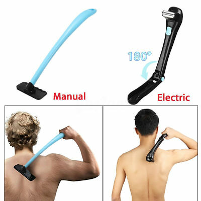 Electric / Manual Back Hair Shaver Remover DIY Shaving Home Professional Trimmer