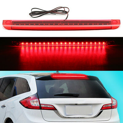Universal 36 red led suv car rear window mount roofline brake led universal red 20 led 12v car high mount level 3rd brake stop rear tail light aloadofball Image collections