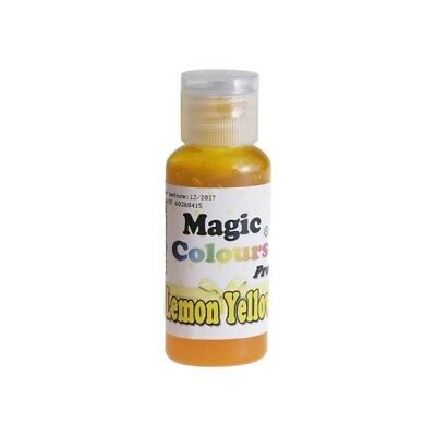 Magic Colours Lemon Yellow Pro - Concentrated Colouring Pigment 32g