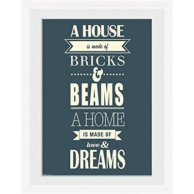 """Gb Eye """"house, Of Dreams"""" Framed Photograph, Multi-colour, 16 x 12-inch, Pack -"""