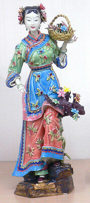 Master Ancient Chinese Ceramic / Porcelain Figurine Ancient Great Beauty Lady