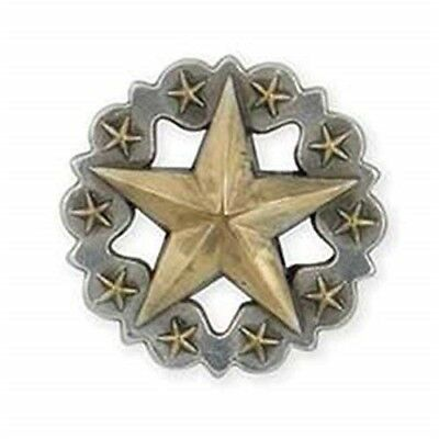 Scalloped Star Concho 1-1/4in - 114in