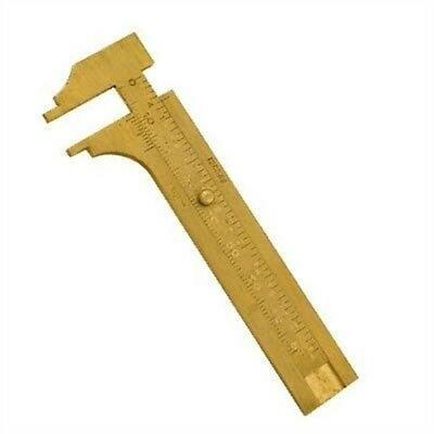 100mm Brass Vernier Caliper - Gauge Measuring Tool Solid Bead Gem Stone