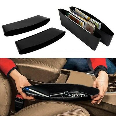 Set Of 2 Catch Caddies - Seat Between Fits Organiser Car Console Stop Drops
