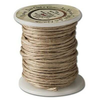 Tandy Leather Natural Jute Cord 20 Yd. (18.2 M) 3mm 1209-03 - 20yd