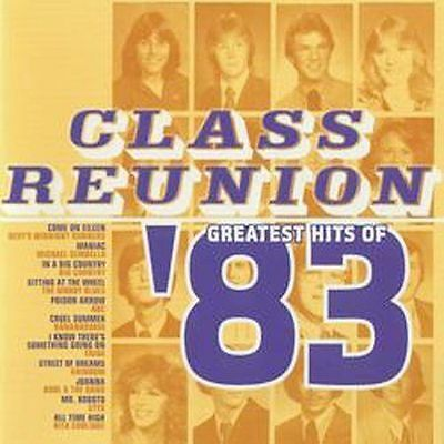 Class Reunion: The Greatest Hits of 1983 by Various Artists (CD,, Rebound)