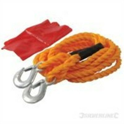 Silverline Tow Rope 2 Tonne 4m x 14mm - 442793