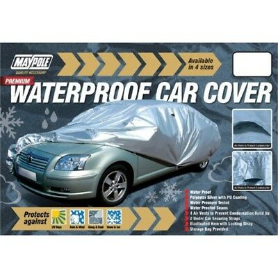 Car Cover - Superior Water Proof + Vents (small) Dp - Maypole Premium Pu Coated