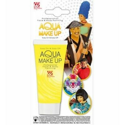 Yellow Aqua Makeup In Tube 30ml - Make Up Widmann Ad Water Various Colours