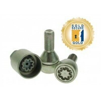 Stronghold - Pk4 M12x23mmx1.5 Sold Secure Lock Wheel Bolts - x Sh7664 Locking