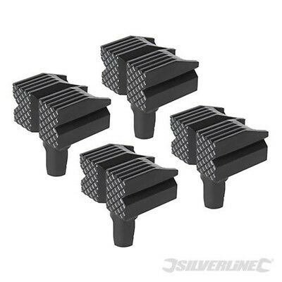 4pk Bench Dogs - Silverline 548885 Pack