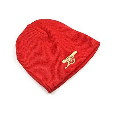 Arsenal Gunners Red Beanie Hat - Official Football Club Knitted Gift
