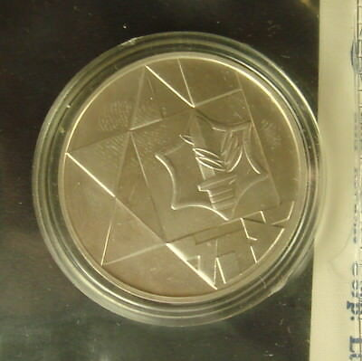 1983 Israel's 35th Independence Day Commemorative Silver Coin Uncirculated