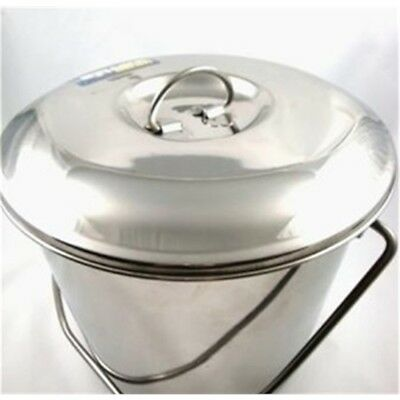 Silver Toolzone Lid For 12 Litre Stainless Steel Bucket