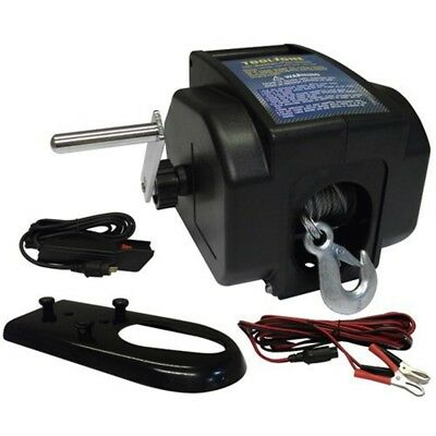 Toolzone 12v Electric Boat Winch - Td024 Blue