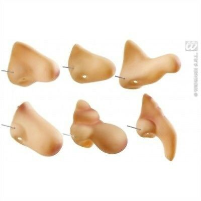 Prosthetic Fancy Dress Noses - 1 6 Styles Accessory