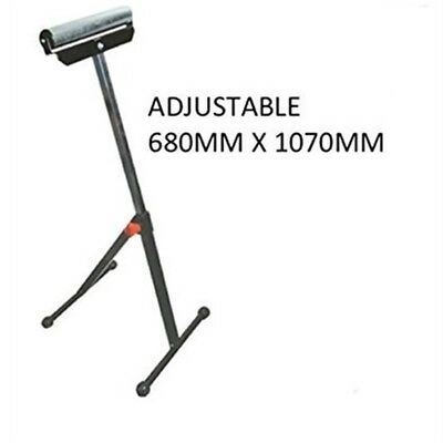 Adjustable Roller Stand 680 x 1070mm 675120 Extension Arms For Mitre -