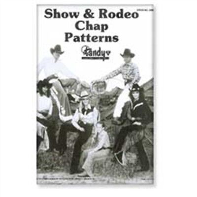 Tandy Leather Show & Rodeo Chap Pattern Pack 62665-00