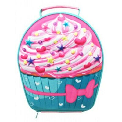 Polar Gear Cupcake Eva Lunch Bag, Pink - Kids 3d Bag School Fun Cooler Pack