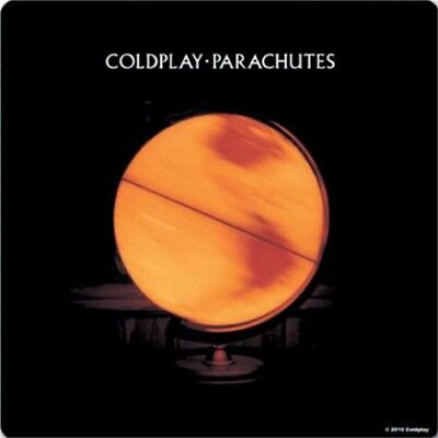 Coldplay Coaster, Parachutes - Album Cover Single Drinks Coaster Gift Band Fan