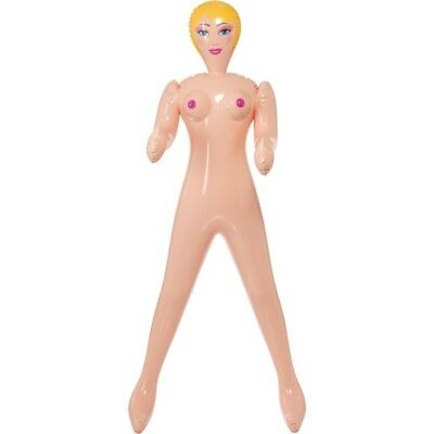 Smiffy's Blow-up Doll, Female - Doll Stag Blow Up Night Party Inflatable Hen