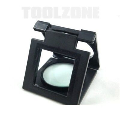 Foldable Magnifyer/ Magnifying Glass - Magnifier Stand Large Hands Free Hb294