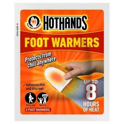 Hot Hands Foot Warmer - Warmers Hot Insole Pack Heat Warming Warmth Sports Multi