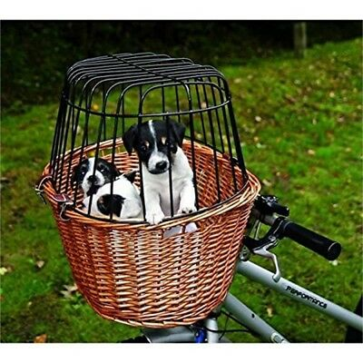 Trixie 2806 Bicycle Basket With Grille 44 x 48 x 33cm - 33cm