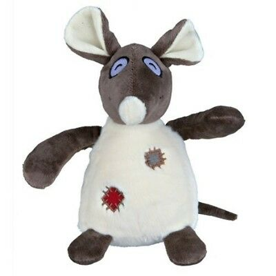 Trixie Rat Plush Toy For Dog, 16cm - Dog Fluffy Squeaky Stuffed 16cm New Pet