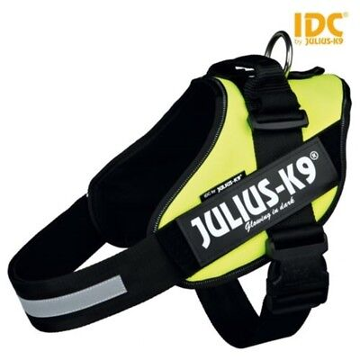 "Julius-k9 Idc-power Harness, Neon Green, Size: Baby 1/29-36 Cm/11.5-14"" -"