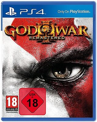 PS4 Game God of War (III) 3 Remastered NEW
