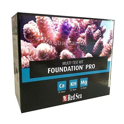 Red Sea Reef Foundation Pro Ca KH Mg - Multi Test Kit