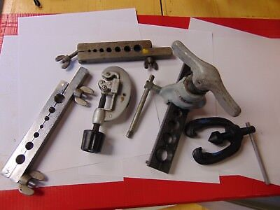 Lot of pipe flaring tools Ridgid pipe cutter LOT FLARING TOOLS OVER 5+ SALE