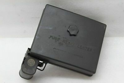 2001 01 chevrolet malibu 3 1l fuse and relay box fusebox cap cover only