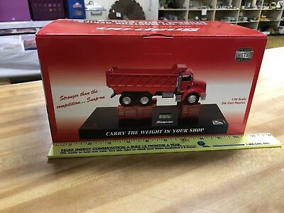 Snap On Tools Dump Truck Desk Clock