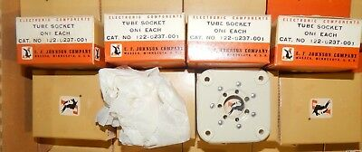 QUAD E.F Johnson Tube Sockets for 813 GK-71 VT-144 CAT 122-0237-001
