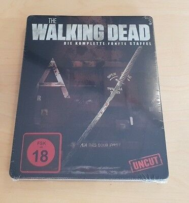 THE WALKING DEAD Steelbook Fünfte Staffel UNCUT & Limited Edition